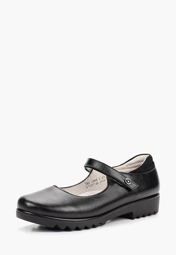 Туфли для девочки Kenka TQI_1568-1_black k