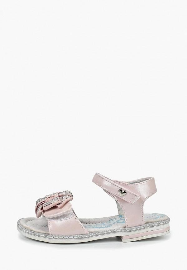 сандалии kenka для девочки, розовые