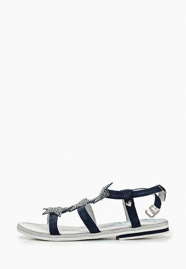 сандалии kenka для девочки, синие