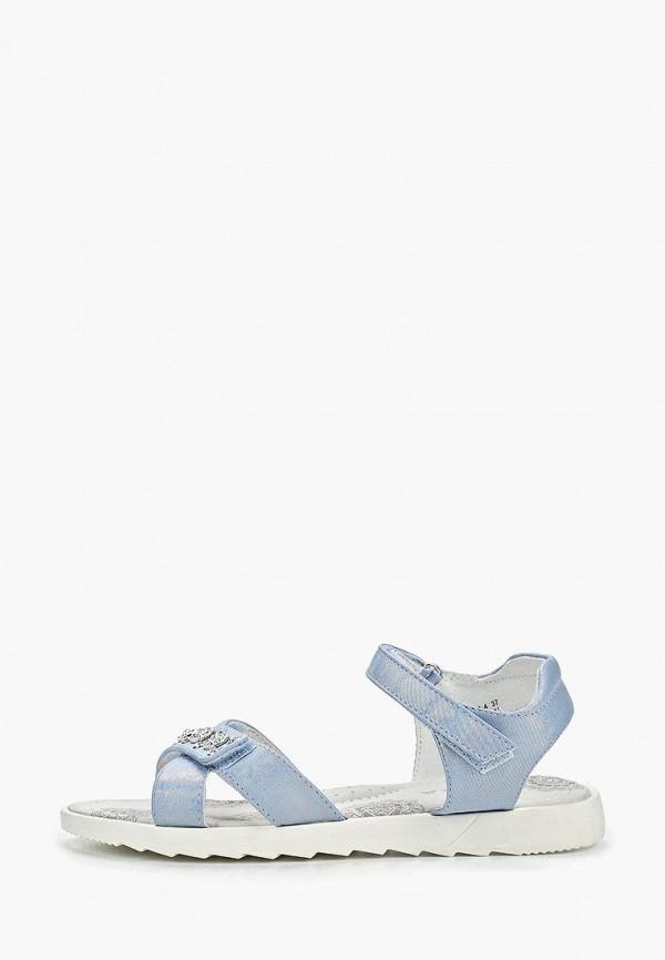 сандалии kenka для девочки, голубые