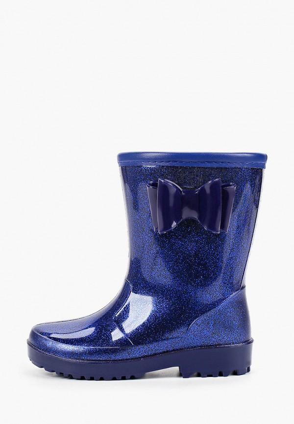 резиновые сапоги kenka для девочки, синие