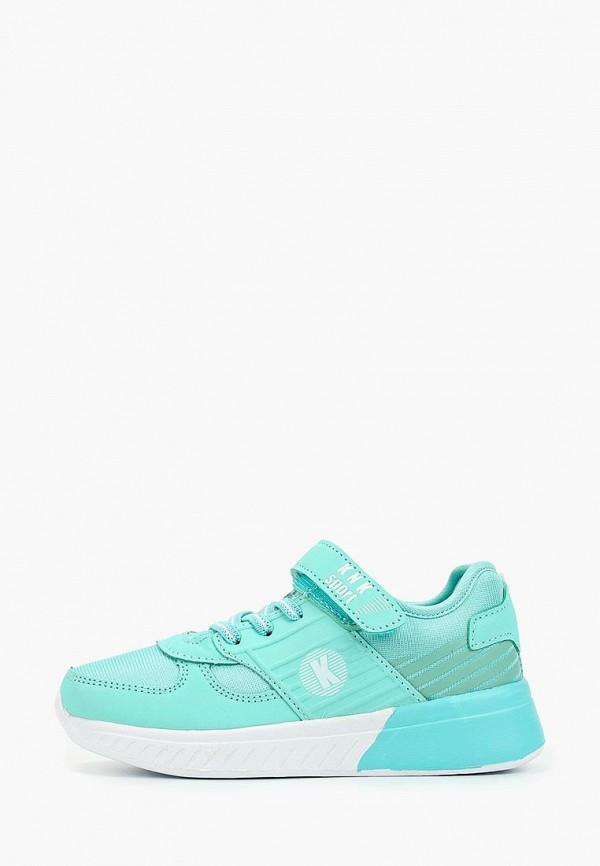кроссовки kenka для девочки, голубые