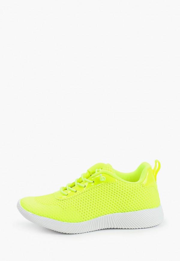 кроссовки kenka для девочки, желтые
