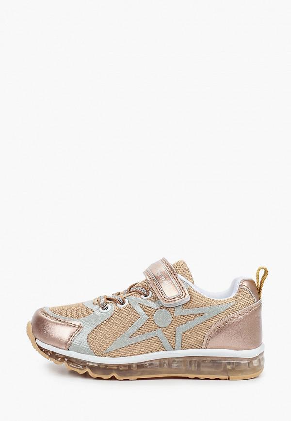 кроссовки kenka для девочки, золотые