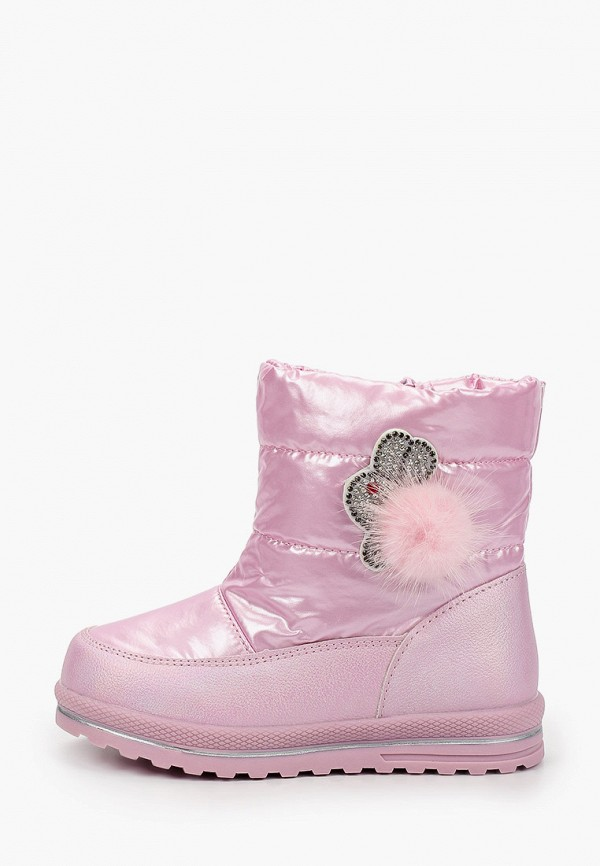 дутики kenka для девочки, розовые