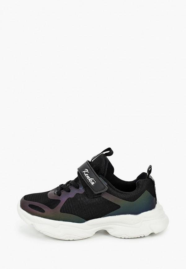 кроссовки kenka для девочки, черные