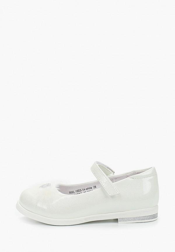туфли kenka для девочки, белые