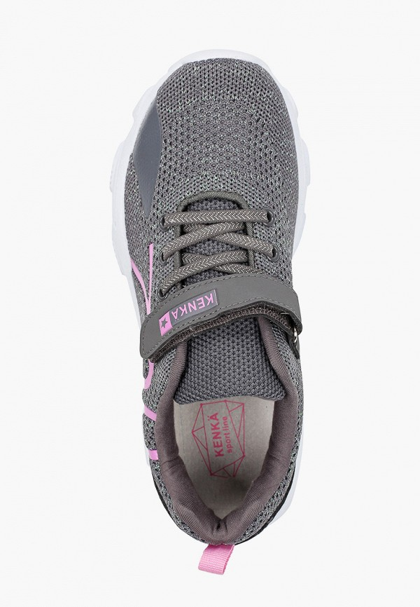 Кроссовки для девочки Kenkä IQH_201-1_grey Фото 4