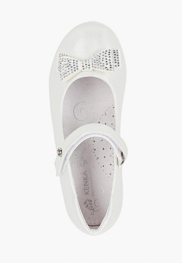 Туфли для девочки Kenkä RWL_90-01_white Фото 4