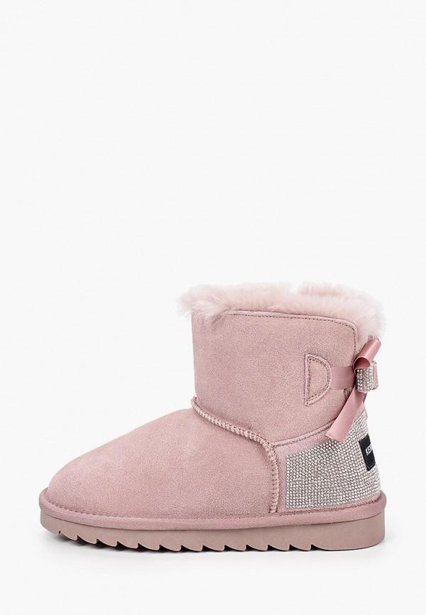 полусапожки kenka для девочки, розовые