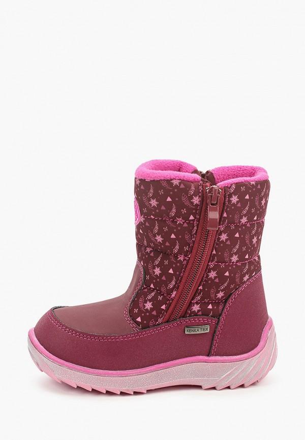 сапоги kenka для девочки, розовые
