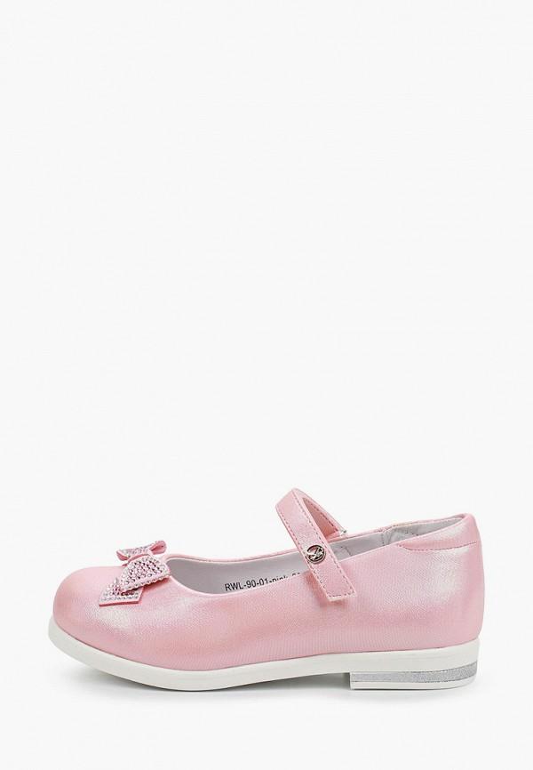 туфли kenka для девочки, розовые