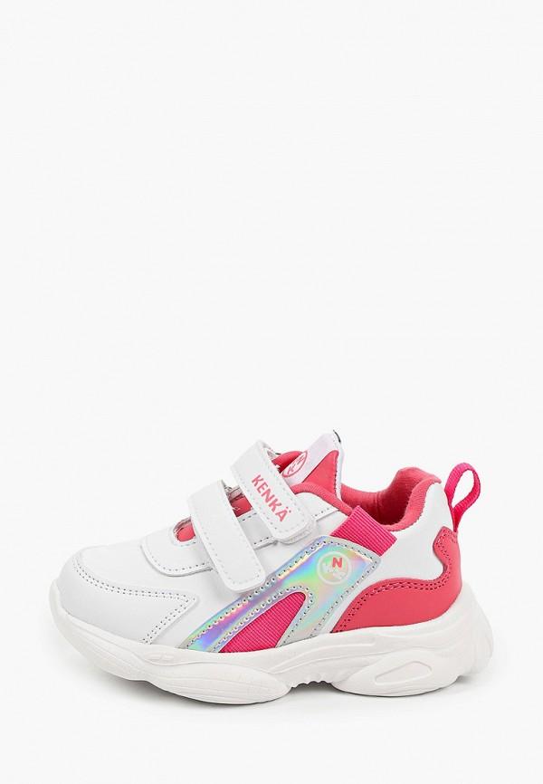 кроссовки kenka для девочки, белые