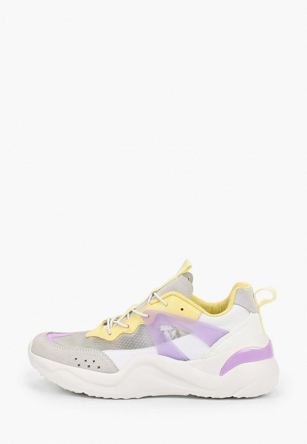 Кроссовки для девочки Kenkä ADU_1011901_grey-yellow