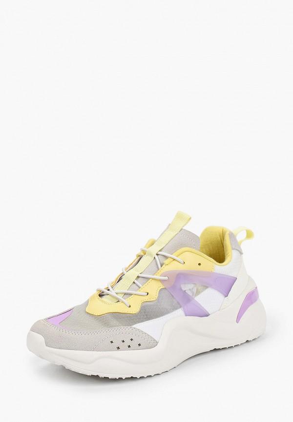 Кроссовки для девочки Kenkä ADU_1011901_grey-yellow Фото 2