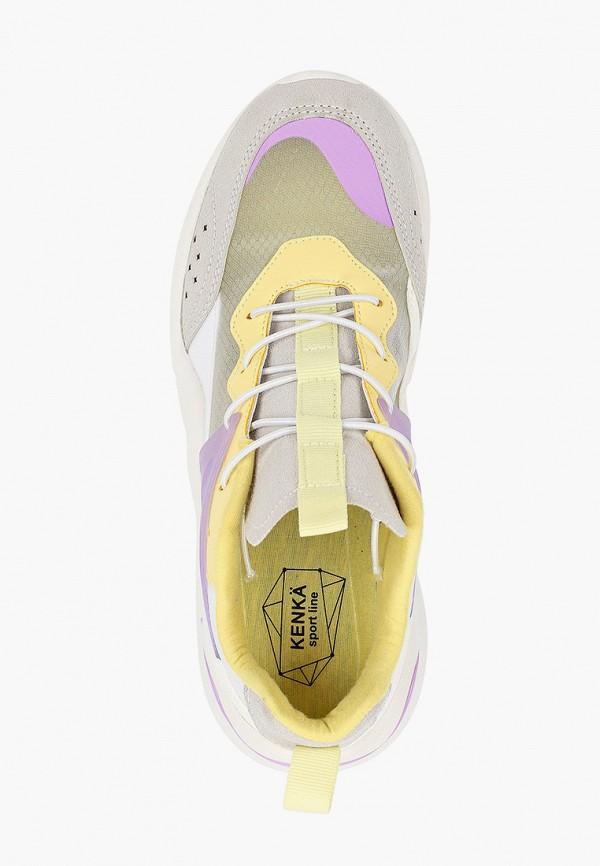 Кроссовки для девочки Kenkä ADU_1011901_grey-yellow Фото 4