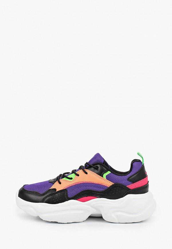 Кроссовки для девочки Kenkä ADV_1013001_black-violet