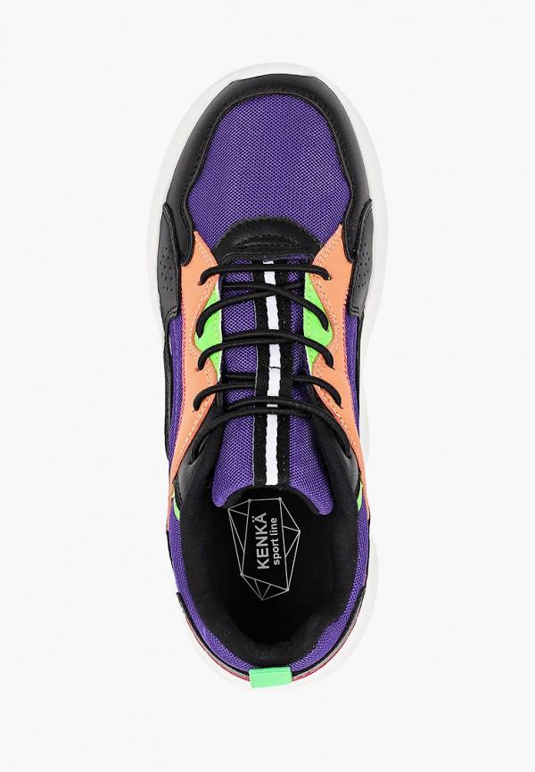 Кроссовки для девочки Kenkä ADV_1013001_black-violet Фото 4