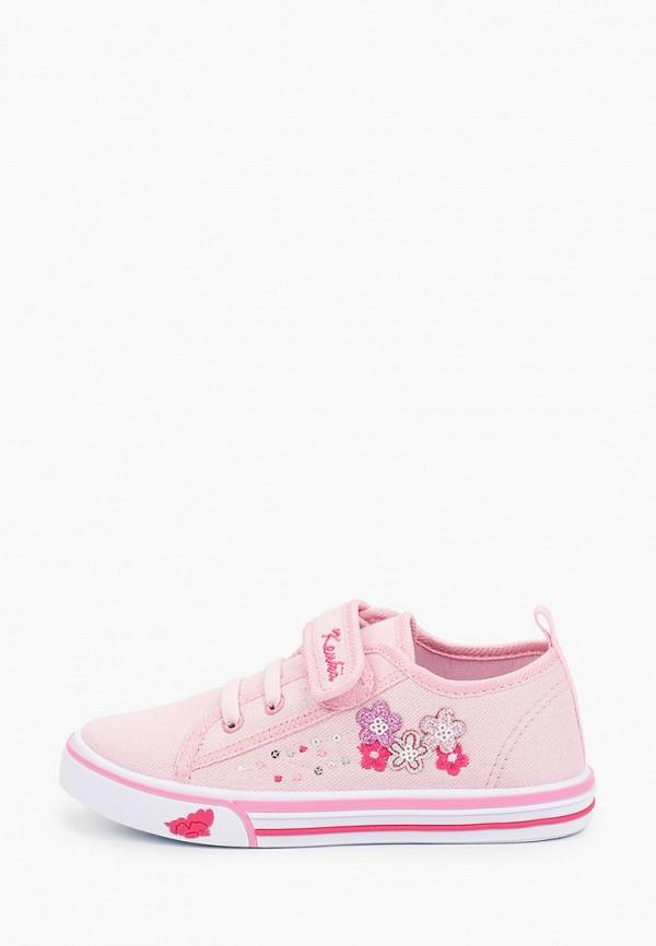 кеды kenka для девочки, розовые