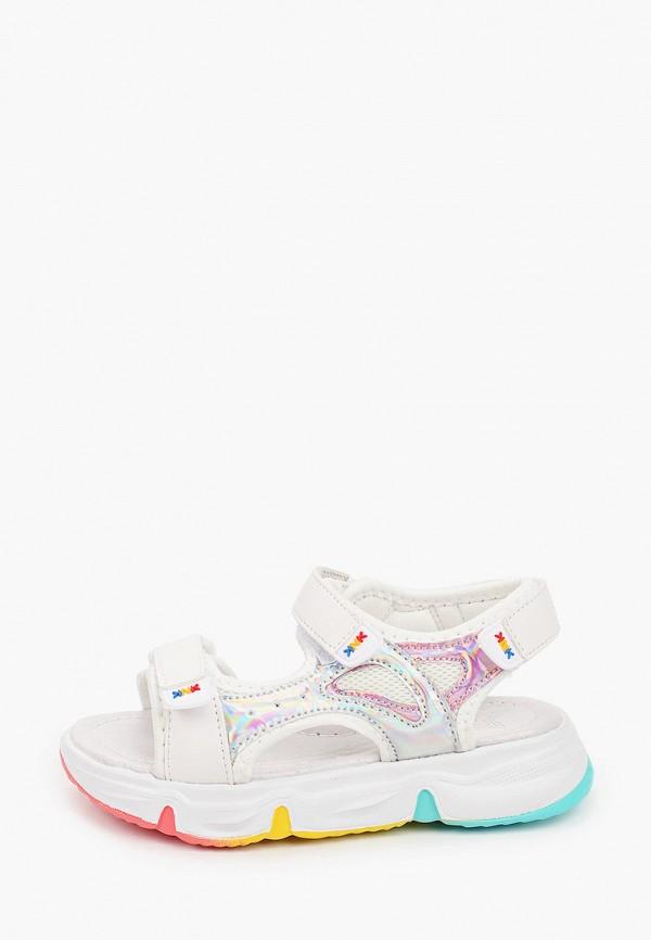 сандалии kenka для девочки, белые