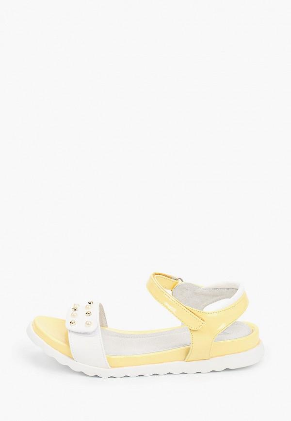 сандалии kenka для девочки, желтые