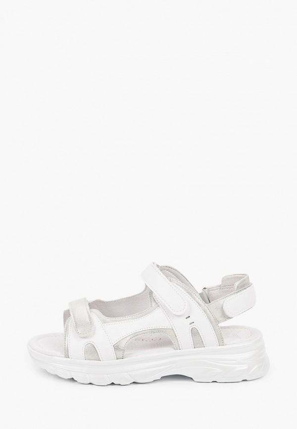 сандалии kenka для девочки, серебряные