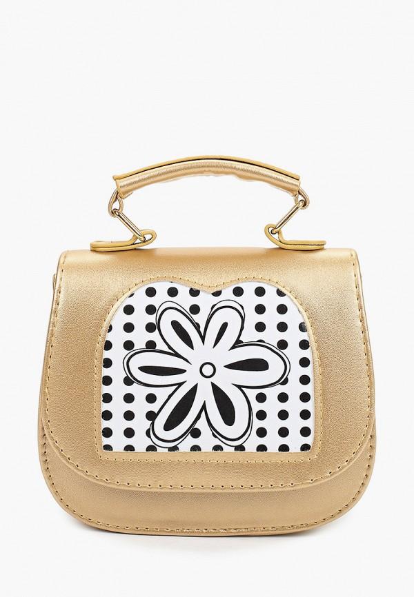 сумка kenka для девочки, золотая