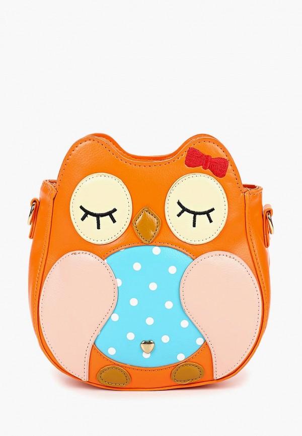 сумка kenka для девочки, оранжевая