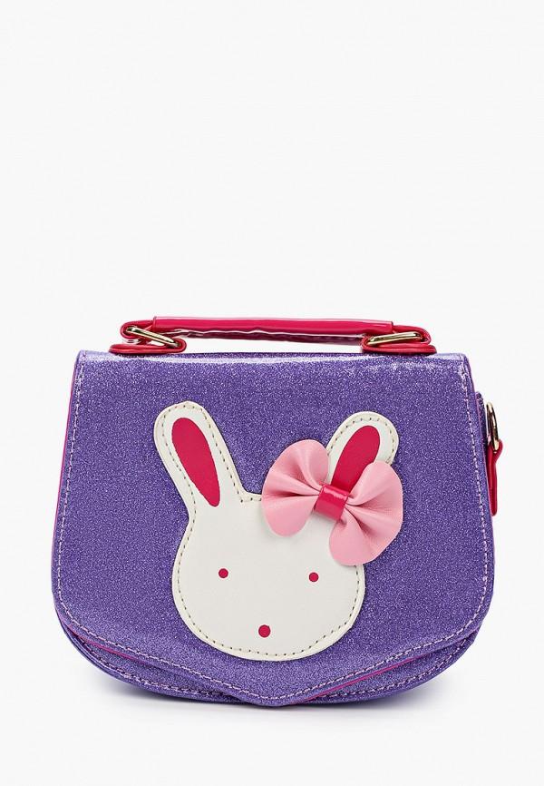 сумка kenka для девочки, фиолетовая