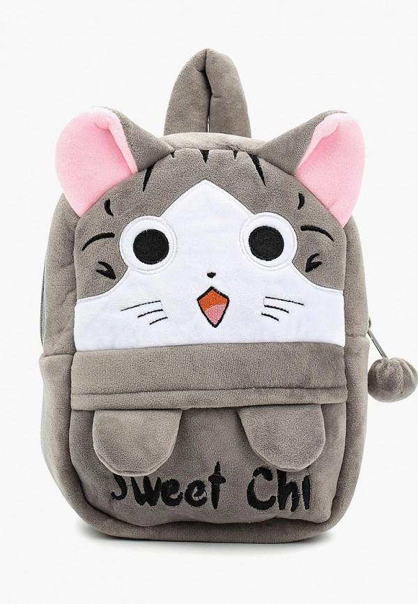 рюкзак kenka для девочки, серый