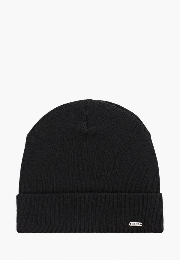 шапка kenka для мальчика, черная