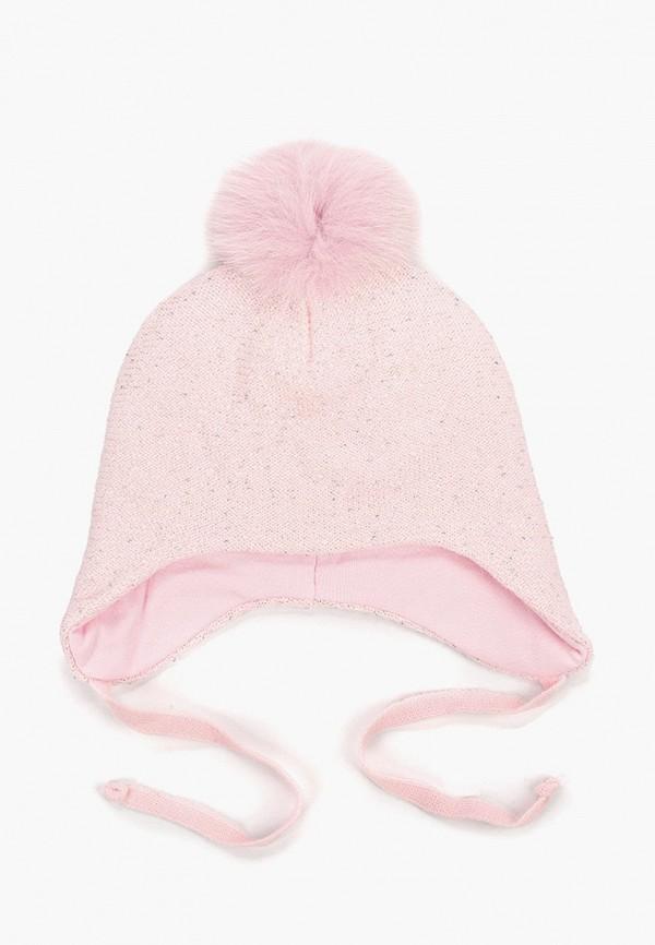 шапка kenka для девочки, розовая