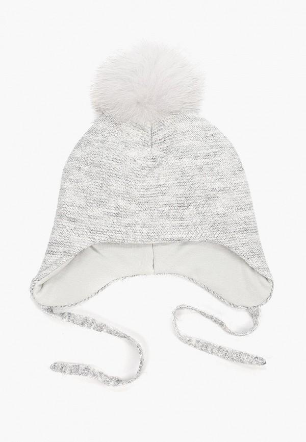 шапка kenka для девочки, серая