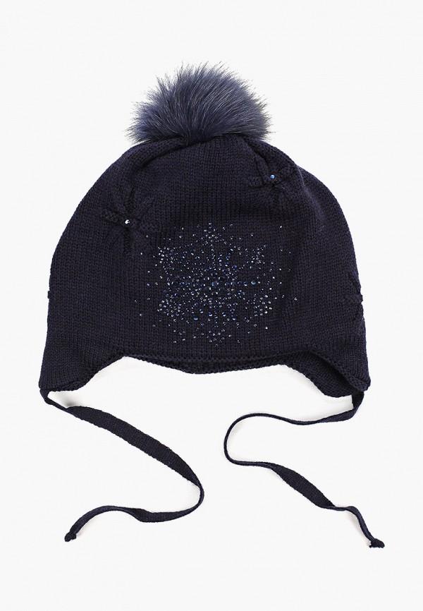 шапка kenka для девочки, синяя