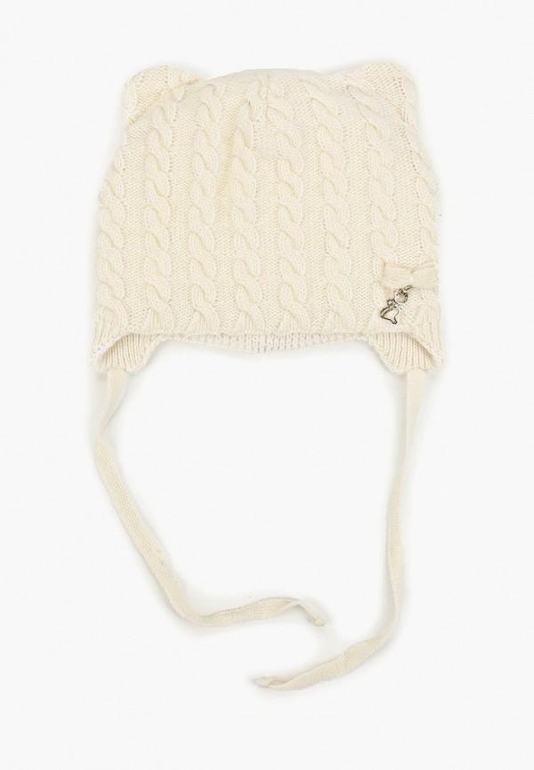 шапка kenka для девочки, белая
