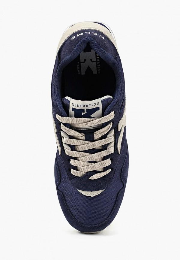 Фото 4 - мужские кроссовки Kelme синего цвета