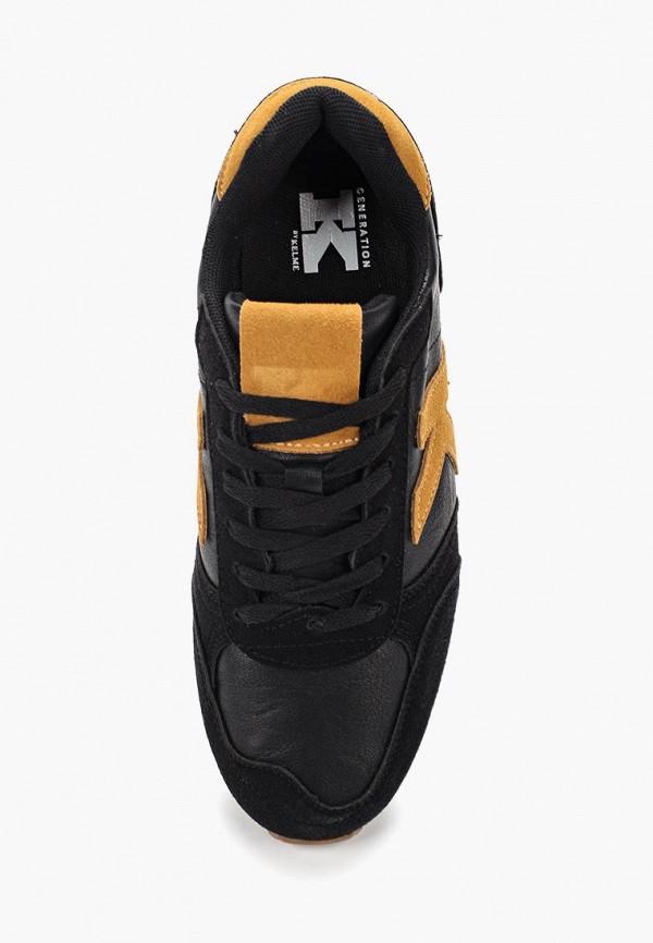 Фото 4 - женские кроссовки Kelme черного цвета