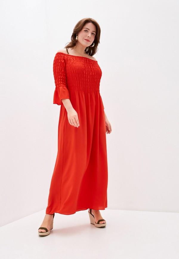 женское повседневные платье keyra, красное