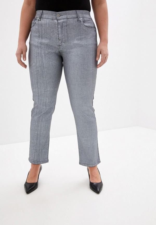 женские прямые брюки keyra, серые
