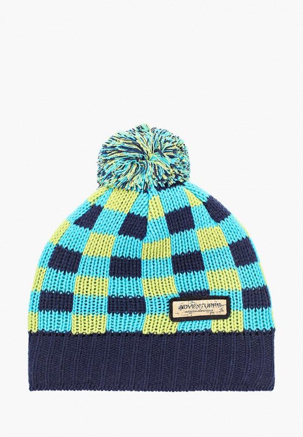 шапка kerry для мальчика, разноцветная