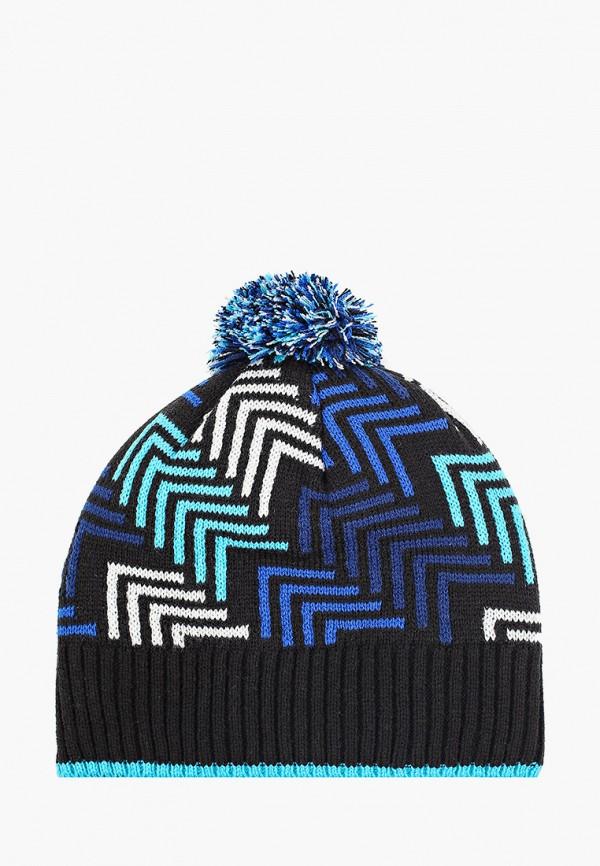 шапка kerry для мальчика, фиолетовая