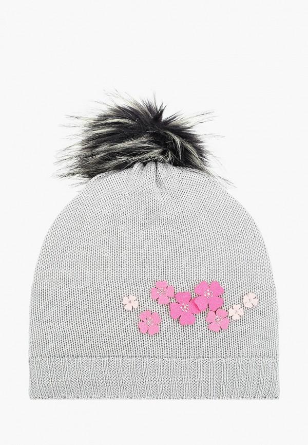 шапка kerry для мальчика, серая