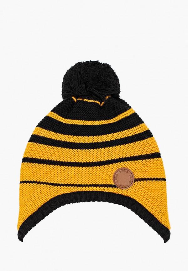шапка kerry для мальчика, желтая