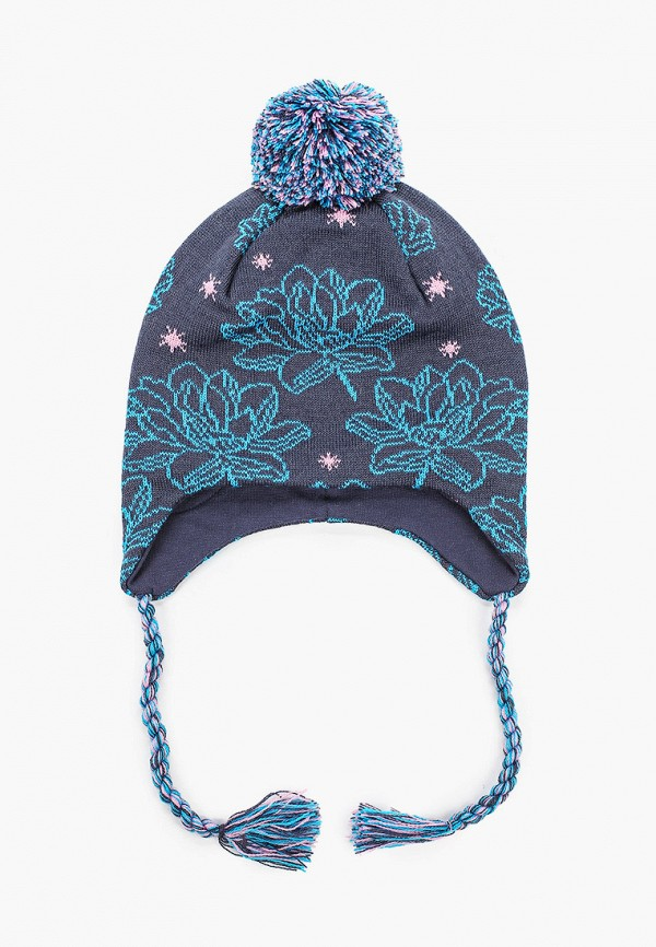 шапка kerry для девочки, синяя
