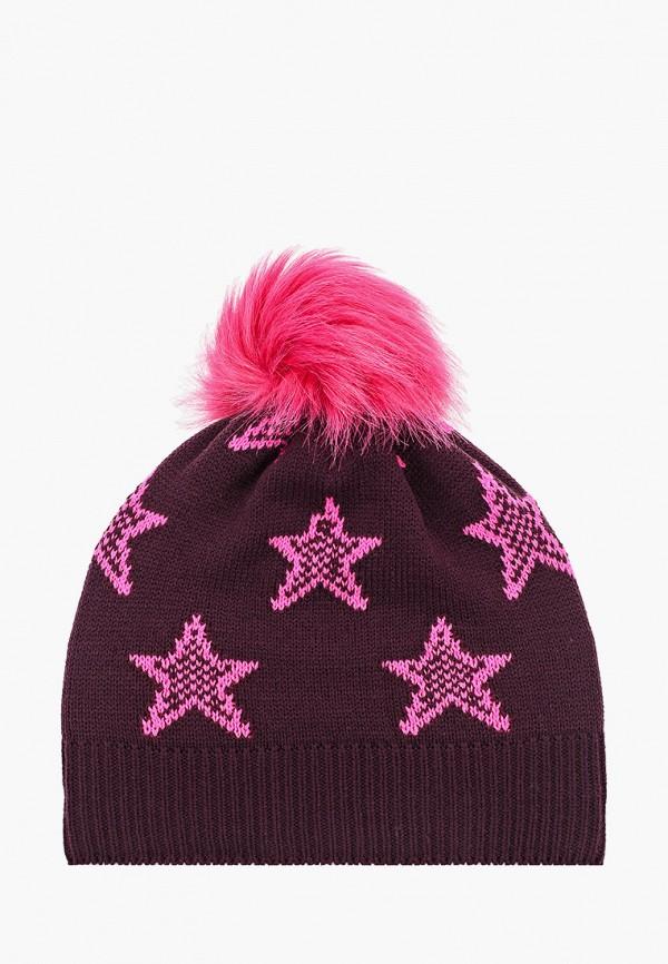шапка kerry для девочки, бордовая