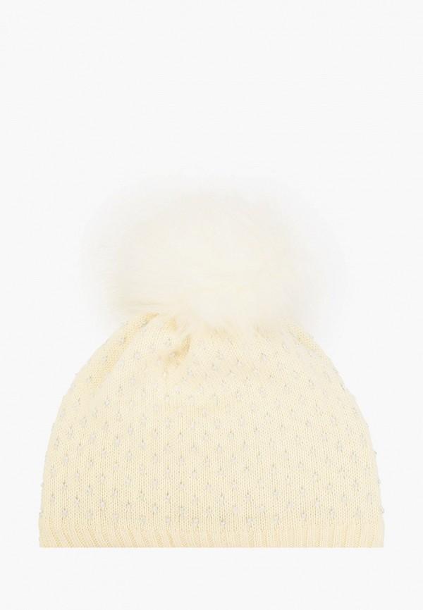 шапка kerry для девочки, белая