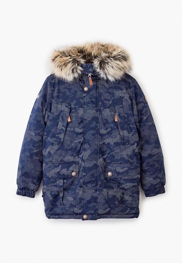 утепленные куртка kerry для мальчика, серая