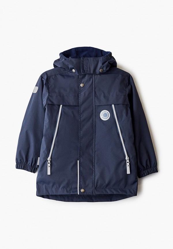 утепленные куртка kerry для мальчика, синяя