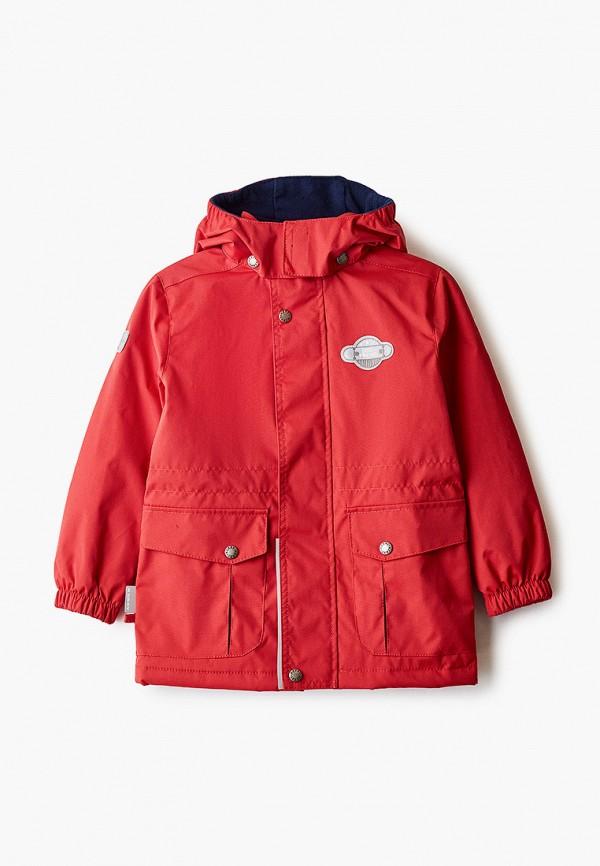 куртка kerry для мальчика, красная