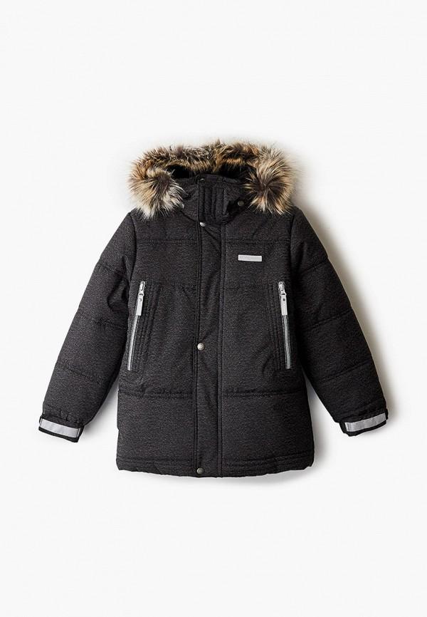 куртка kerry для мальчика, черная